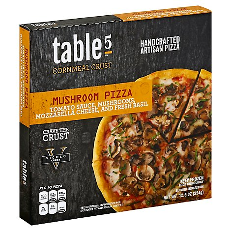 Table5 Pi Pizza Artisan Mushroom Frozen - 12.5 Oz
