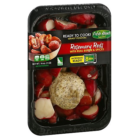 Microwavable Fresh Cut Red Potatoes With A Rosemary Seasoned Butterpuck - 16 Oz