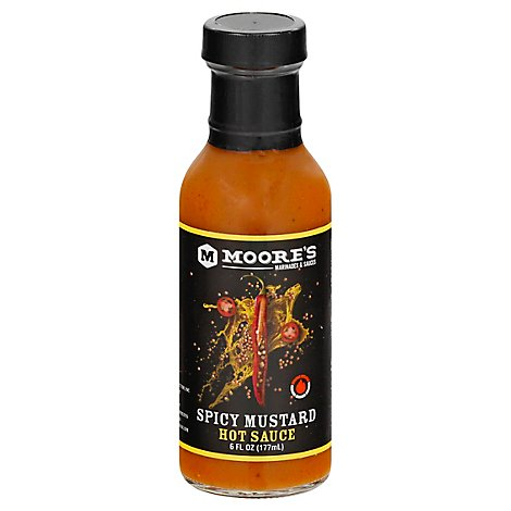 Moore Sauce Mustard Tangy Ho - 6 Oz