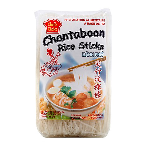 Chef-C Chantaboon Rice Stick - 16 Oz