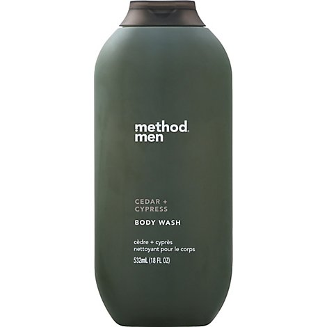 Method Cedar & Cypress Mens Body Wash - 18 Fl. Oz.