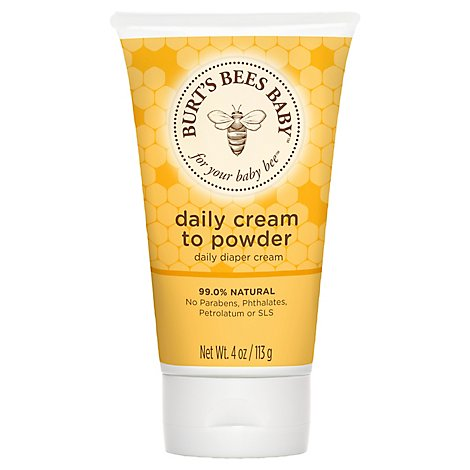 Burts Bee Baby Cream To Powder - 4 Oz