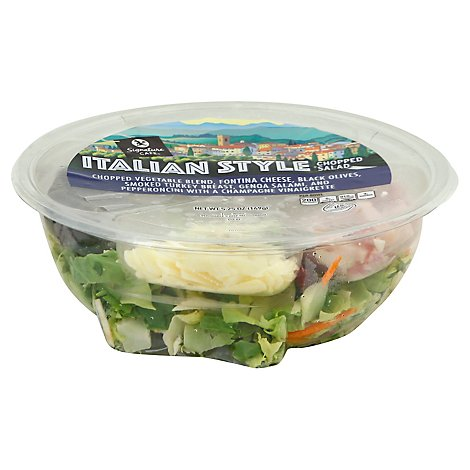 Signature Cafe Salad Chopped Italian Style - 5.25 Oz