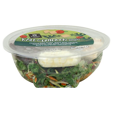 Signature Cafe Salad Chopped Kale & Chicken - 5.75 Oz