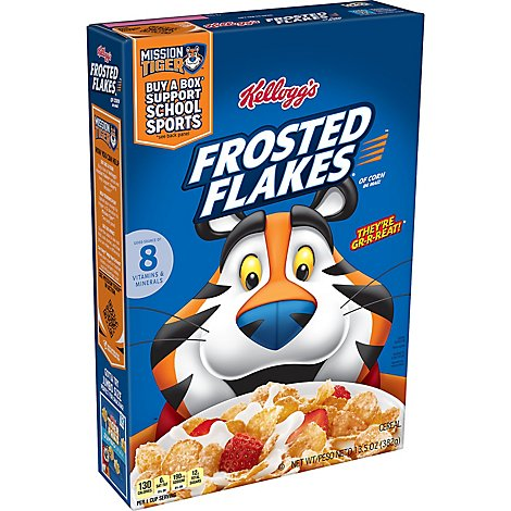Kelloggs Cereal Frosted Flakes - 13.5 Oz