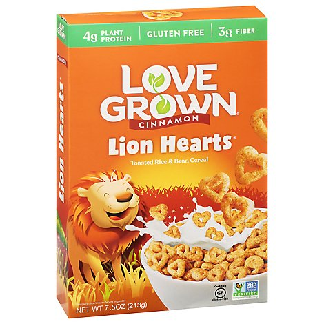 Love Grow Cereal Lion Loops - 7.5 Oz