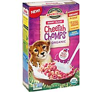 EnviroKidz Cheetah Chomps Cereal Organic Berry Blast - 10 Oz