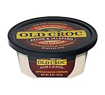 Old Croc Bacon Jalapeno Spreads - 8 Oz