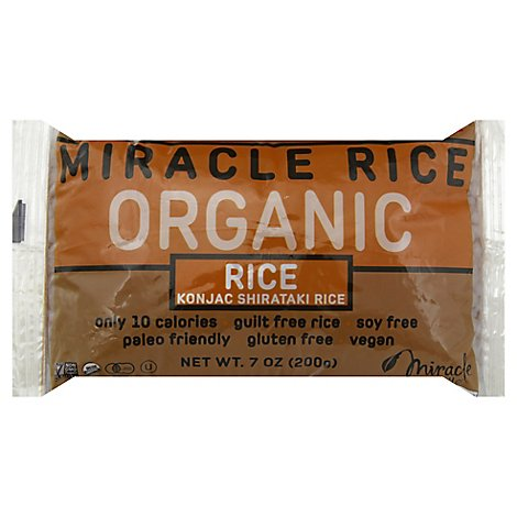 Miracle N Rice Shirataki Org - 7 Oz