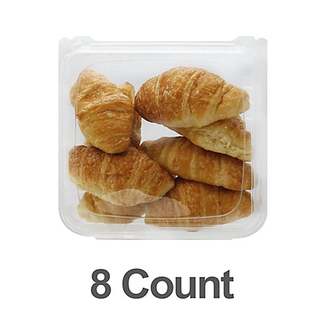 Pavilions Small Butter Croissants 8ct
