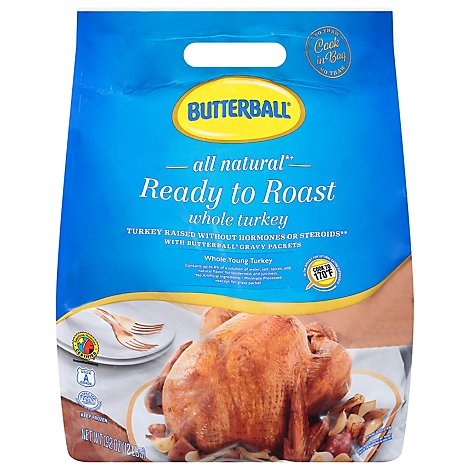 Butterball Whole Turkey Ready To Roast Classic Oven Style - 12 Lb