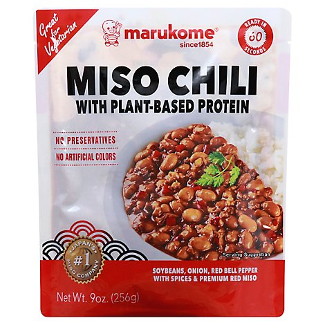 Miso Chili With Plant Based Protein - Each