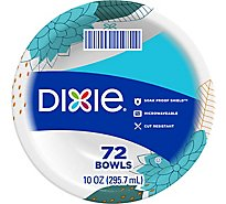 Dixie Everyday Paper Bowls Microwavable 10 Oz - 72 Count