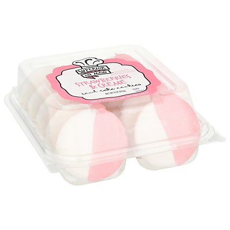 Cookies Iced Strawberries And Creme 10ct - 9 Oz