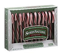 SweetNature Candy Canes Peppermint 12 Count - 5.3 Oz