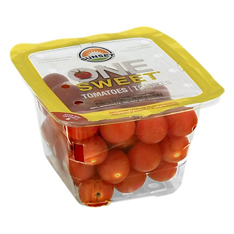 Sunset One Sweet Tomatoes 1 Pint - 551 Ml