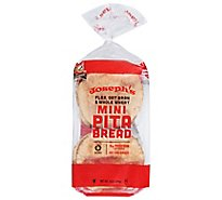 Josephs Pita Bread Flax 6 Count - 8 Oz