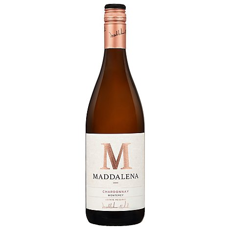 Maddalena Vineyards Wine Chardonnay Monterey - 750 Ml