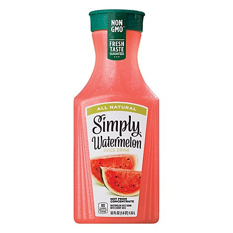 Simply Watermelon Juice All Natural - 52 Fl. Oz.