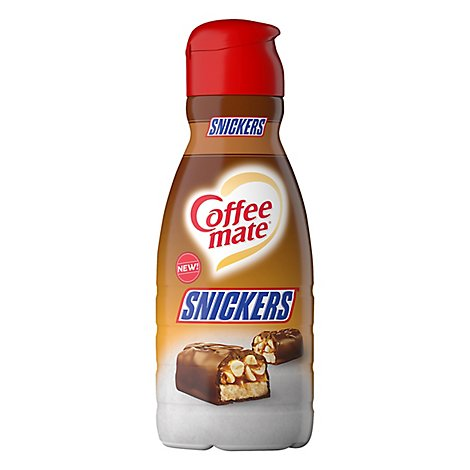 Coffee mate Coffee Creamer Liquid Snickers - 32 Fl. Oz.