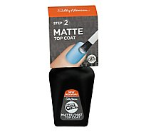 Sally Hansen Miracle Gel Top Coat Matte - Each