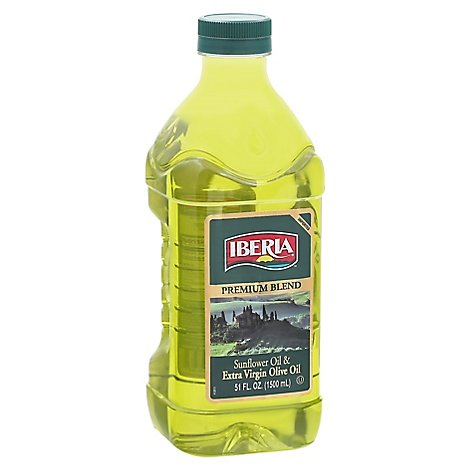 Iberia Olive Oil Extra Virgin Premium Blend - 51 Fl. Oz.