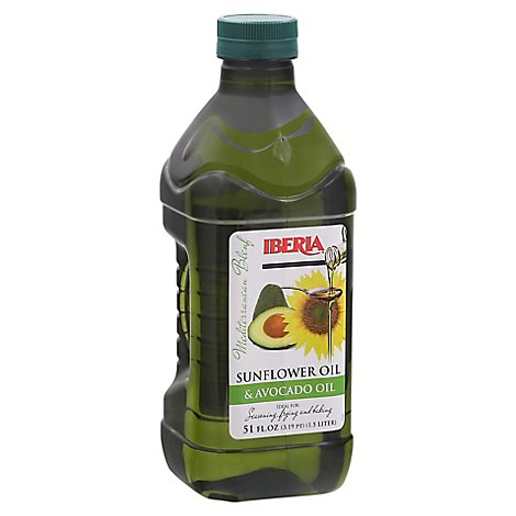 Iberia Sunflower Oil & Avocado Oil Mediterranean Blend - 51 Fl. Oz.