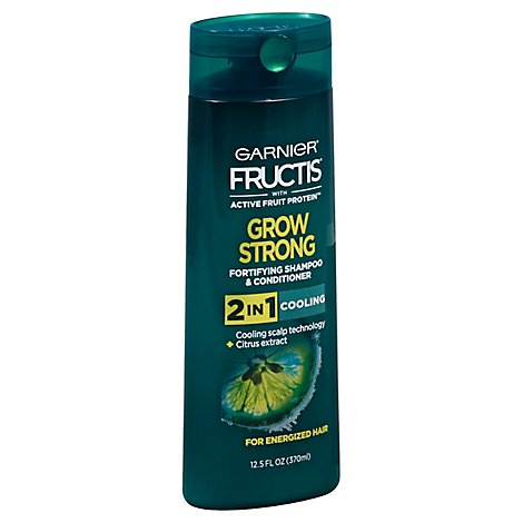 Fructis Grow Strong Cooling 2n1 - 12.5 Fl. Oz.