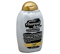 OGX Conditioner Purifying + Charcoal Detox - 13 Fl. Oz.