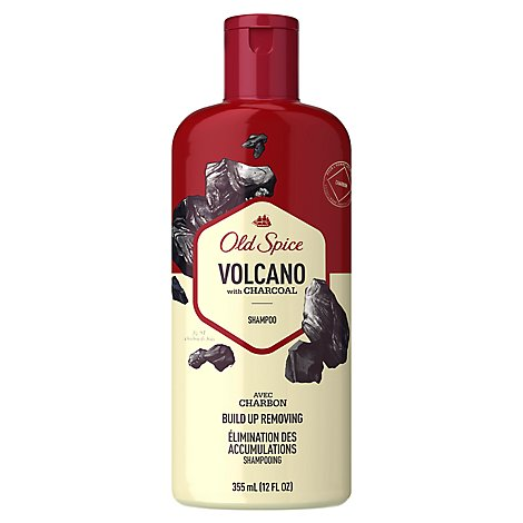 Old Spice Shampoo Volcano With Charcoal - 12 Fl. Oz.