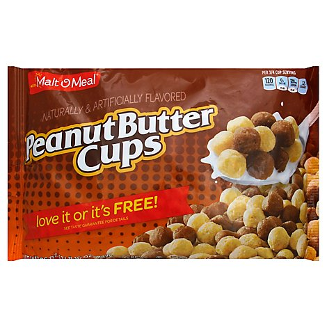 Malt-O-Meal Cereal Peanut Butter Cups - 26 Oz