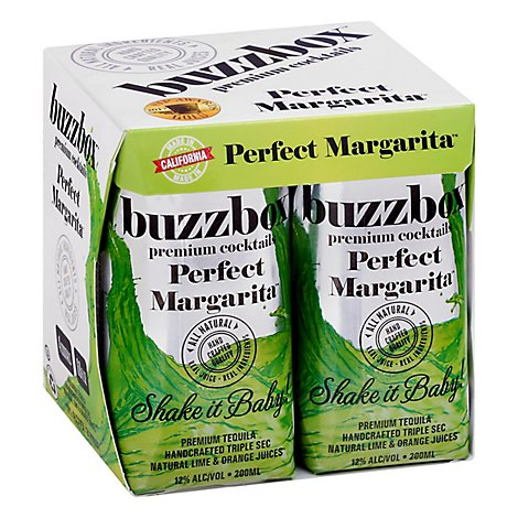 Buzzbox Perfect Margarita - 200 Ml