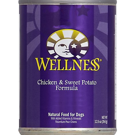 Wellness Dog Food Natural Chicken & Sweet Potato - 12.5 Oz