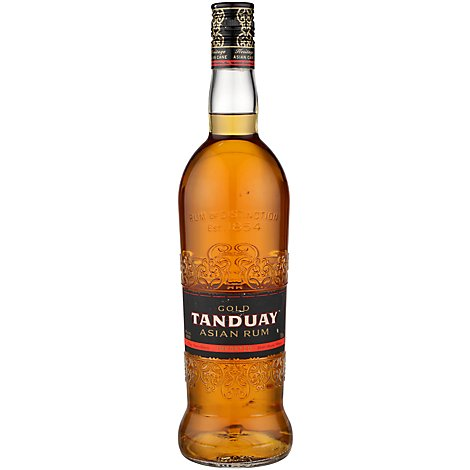 Tanduay Asian Rum Gold Blended Select Rums Aged Up To 7 Years In Kentucky - 750 Ml