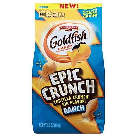 Pepperidge Farm Gold Fish Epic Crunch Ranch - 5.5 Oz