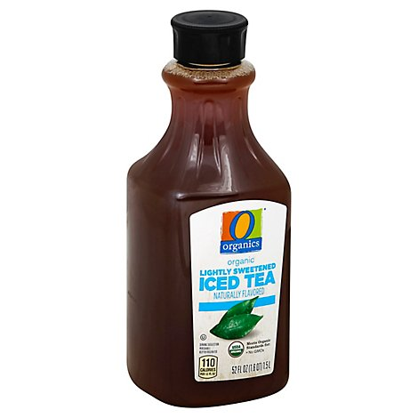 O Organics Organic Iced Tea Lightly Sweetened - 52 Fl. Oz.