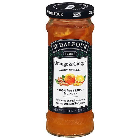 St. Dalfour Marmalade Ginger & Orange - 10 Oz