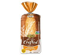 Natures Own Perfectly Crafted Brioche Bread - 22 Oz
