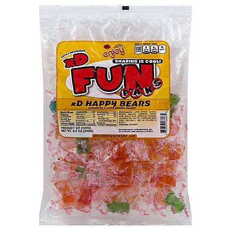 Enjoy Fun Pack Xd Happy Bears - 8.46 Oz