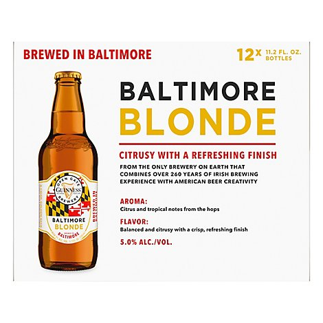Guinness Blonde Can - 12-12 Fl. Oz.