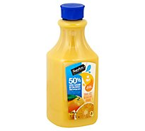 Signature SELECT Orange Juice No Pulp 50% Less Sugar - 52 Fl. Oz.
