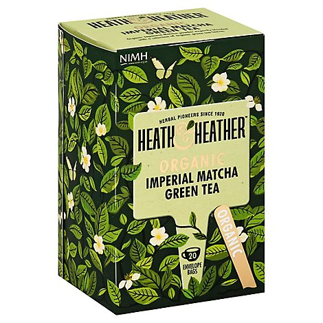 Heath And Tea Green Imperial Org - 20 Count