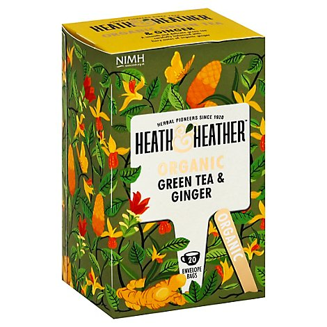 Heath And Tea Green W Gnger Org - 20 Count