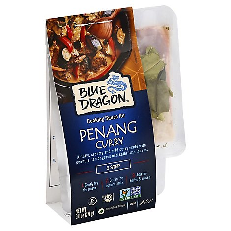 Blue Dragon Sauce Kit Panang - 9.6 Oz