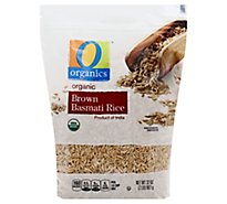 O Organics Rice Brown Basmati - 32 Oz