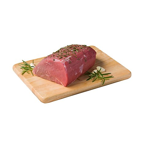 Meat Service Counter Beef Eye Of Round Roast - 3.50 LB