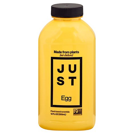 Just Egg Eggs Plant Based Liquid - 12 Oz