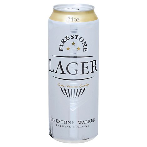Firestone Lager Can - 24 Fl. Oz.