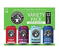 Woodchuck Variety In Cans - 12-12 Fl. Oz.