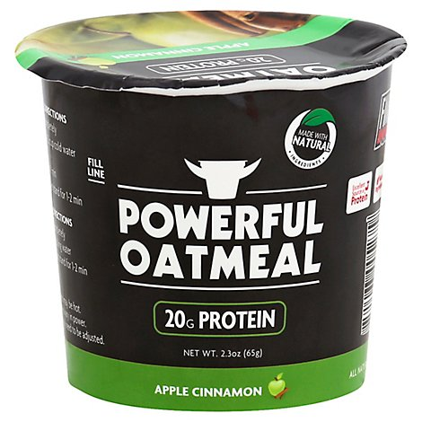 Powe1 Oatmeal Apple Cinmn - 2.3 Oz